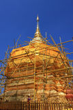 Restoration of Phra That Doi Suthep Royalty Free Stock Photos