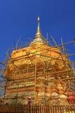 Restoration of Phra That Doi Suthep Royalty Free Stock Photos