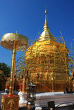 Restoration of Phra That Doi Suthep Stock Photography