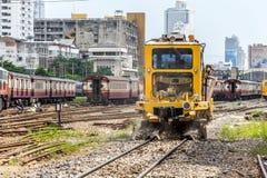 Restoration the railroad tracks Stock Photography