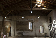 Restoration structure royalty free stock image