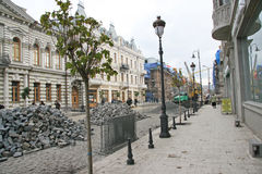 Restoration of Tbilisi Stock Image