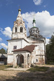 Restoration work at the church of Leontia of Rostov in Veliky Ustyug Royalty Free Stock Photos