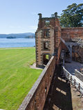 Restoration work on former penal colony. Restoration work at former penal colony of Port Arthur Tasmania Royalty Free Stock Photo