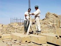Restoration in yemen Royalty Free Stock Photos