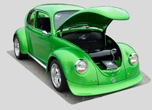 Restored 1972 Volkswagen Beetle Stock Image