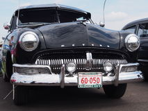 Restored Antique Black Mercury Stock Images