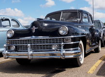Restored Antique 1940s Chrysler New Yorker Club Coupe Stock Photography