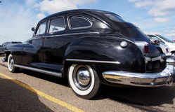 Restored Antique 1940s Chrysler New Yorker Club Coupe Royalty Free Stock Images
