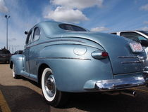 Restored Antique 1940s Ford Coupe Stock Images