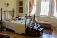 Victorian master bedroom Royalty Free Stock Images