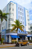 Restored Art Deco Hotel Stock Image