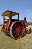 Restored Avery tractor. ROLLAG, MINNESOTA, Sept 1. 2016: A restored Avery Company tractor is displayed at the annual WCSTR farm show in Rollag held each Labor Royalty Free Stock Image