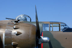 Restored B-25J Stock Image