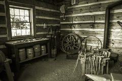 Restored Blacksmith Workshop Royalty Free Stock Image