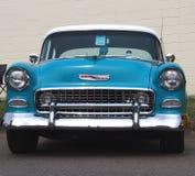 Restored Blue Chevrolet Royalty Free Stock Image