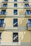 Restored building, Barcelona Stock Photography