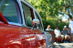 Restored car Royalty Free Stock Images