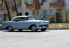 Restored Chevrolet At Playa Del Este Cuba Royalty Free Stock Photography