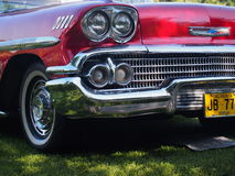 Restored Classic Chevrolet Grill Stock Photography