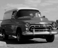 Restored Classic Chevrolet Panel Truck Stock Photos