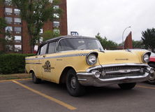 Restored Classic Chevrolet Taxi Cab Stock Images