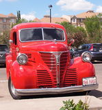 Restored Classic Dodge Fargo Van Royalty Free Stock Photos