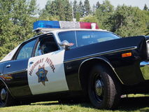 Restored Classic Dodge Highway Patrol Cruiser Royalty Free Stock Photography