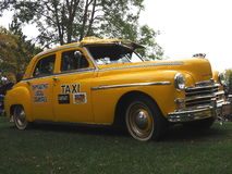 Restored Classic Taxi Cab Royalty Free Stock Images