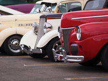 Restored Classic Vintage Vehicles Royalty Free Stock Images