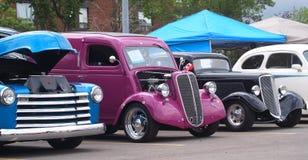Restored Classic Vintage Vehicles Stock Photos