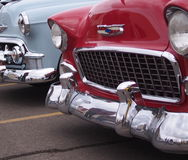 Restored Classic Vintage Vehicles Royalty Free Stock Photography
