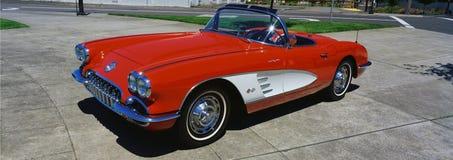 restored  Corvette Stock Photos