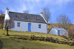Restored crofter cottage Royalty Free Stock Photo