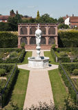The restored Elizabethan Garden at Kenilworth Castle, Kenilworth Royalty Free Stock Image