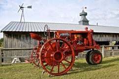 Restored F-12 Farmall tractor Royalty Free Stock Photo