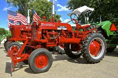 Restored Farmall Cub and C tractors Royalty Free Stock Images
