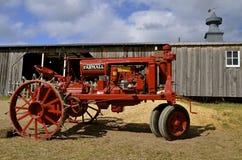 Restored Farmall F-12 tractor Stock Photo