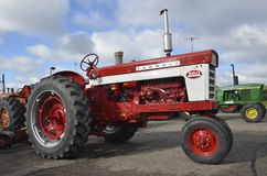 Restored Farmall 560 tractor Stock Images