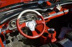 1963 restored Ford Falcon Convertible Stock Photo