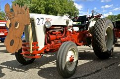 Restored Ford N Series tractor Royalty Free Stock Images