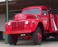 Restored Ford RCAF Firetruck Royalty Free Stock Photo