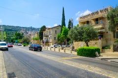 The Restored German Colony, Haifa Royalty Free Stock Images