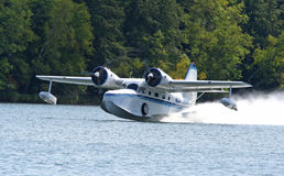 Restored Grumman Goose Seaplane Royalty Free Stock Photography