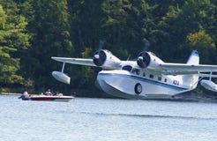 Restored Grumman Goose Seaplane Royalty Free Stock Photography