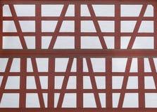 Restored half-timbered Stock Photo
