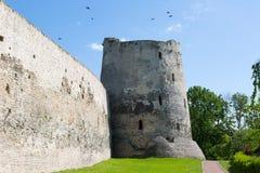 Restored Izborsk fortress. Izborsk, Pskov region,Russia Royalty Free Stock Image