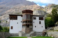 Restored Khaplu Palace heritage fort Gilgit Baltistan Pakistan Stock Photos