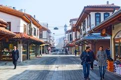 The restored market quarter in Konya Royalty Free Stock Image
