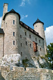 Restored medieval castle of Bobolice near Czestochowa. Royalty Free Stock Photo